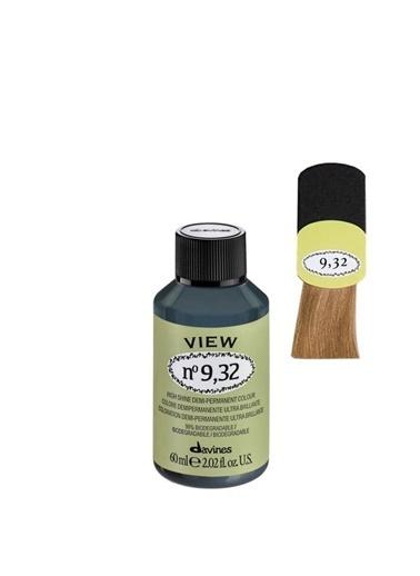 Davines Davines View Yarı Kalıcı Saç Boyası 9,32 Çok Açık Kumral Dore Irize 60 Ml Renksiz